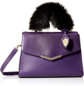 874592558ba5 Time s Arrow Women s Ava Satchel with Fur
