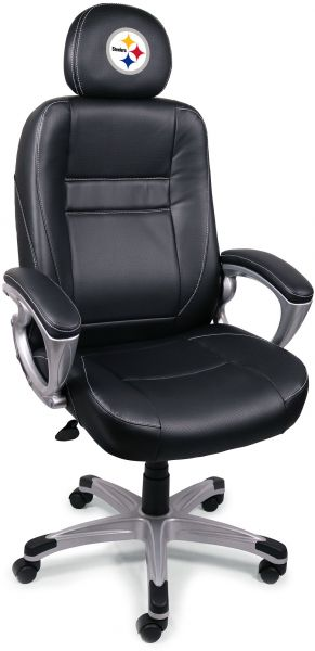 Brilliant Nfl Pittsburgh Steelers Leather Office Chair Ksa Souq Uwap Interior Chair Design Uwaporg