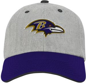 NFL Youth Boys Chainstitch Heather Twill Slouch Hat-Rave Purple-1 Size ef371f989ba1