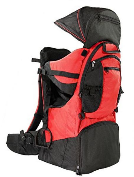 73329d87da0 Clevr Cross Country Baby Back Hiking Carrier with Stand and Sun Shade Visor  Child Kid toddler