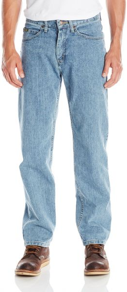 bb4616ac Lee Men's Relaxed Fit Straight Leg Jean, Worn Light, 38W x 32L. by LEE,  Pants - Be the first to rate this product