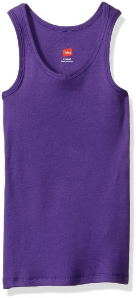 82c5efa16d9b4f Hanes Little Girls  Ribbed Tank Top (Pack of 3)
