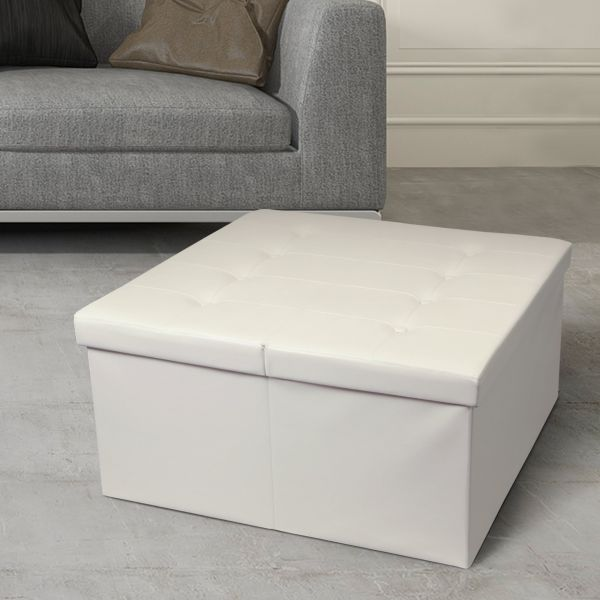 Otto Ben Storage Ottoman Coffee Table With Smart Lift Top Tufted Folding Faux Leather Trunk Bench Foot Rest 30 Ivory Price In Saudi Arabia Souq Saudi Arabia Kanbkam