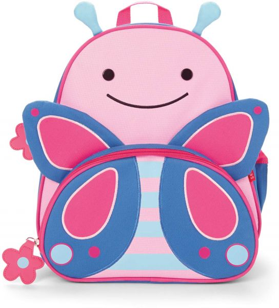40dd4bf1d3 Skip Hop Zoo Insulated Toddler Backpack Blossom Butterfly