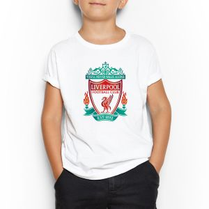 0fe8338af Liverpool White Round Neck T-Shirt For Kids 5 - 6 Years