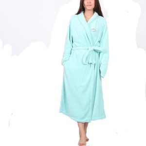 Coral Fleece Cardigan Pajamas Candy Color Robe Noble Coral Velvet Home  Clothes Pajamas 352c8d4b6