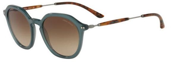 52893081 Giorgio Armani Round Sunglasseses for Men , Brown , AR8109 568013 50