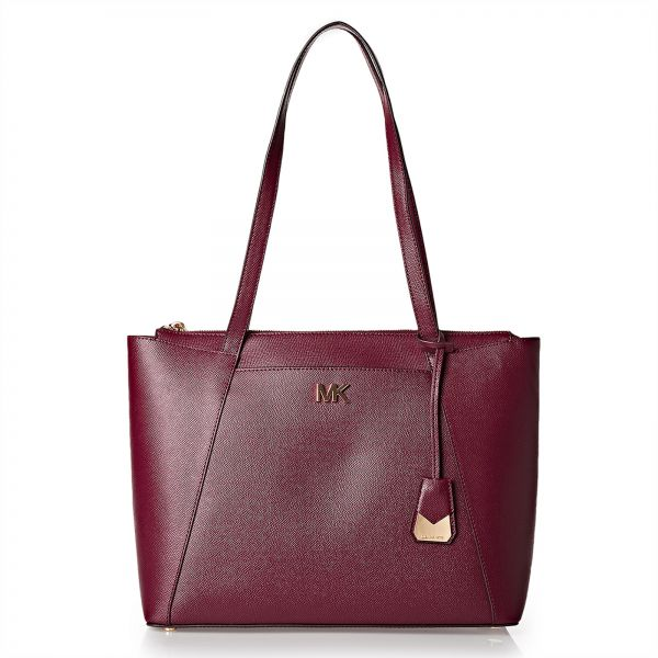 Michael Kors Tote Bag For Women Maroon