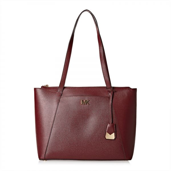Michael Kors Tote Bag For Women Burgundy