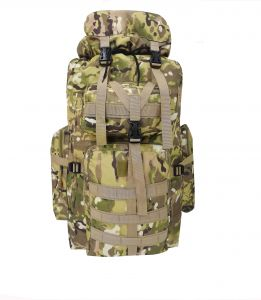 Camouflage Hiking Bag 70L-90L Outdoor Climbing Tactical Hiking Traveling  Backpack d421bd00d4d91