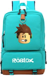 373a012027 Roblox game casual backpack for teenagers Kids Boys Children Student School  Bags travel Shoulder Bag Unisex Laptop Bags-Green