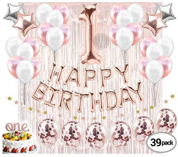 Peachy 1St Birthday Decorations Firsts Birthday Party Supplies One Cake Funny Birthday Cards Online Alyptdamsfinfo