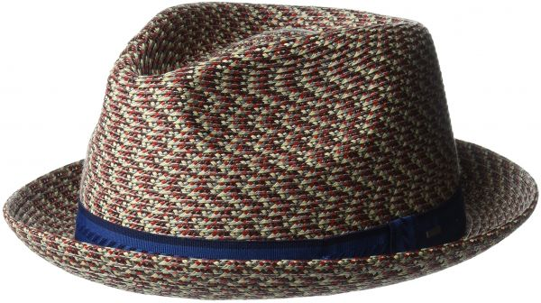 c5ea7cf24 Bailey of Hollywood Men's Mannes Braided Fedora Trilby Hat ...