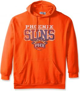 aa85d4a3f NBA Phoenix Suns Men's Screen Pullover Fleece Hoodie, XX-Large Tall, Orange