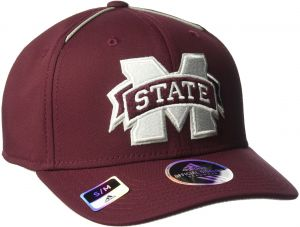 ceb2cf6547ffd adidas NCAA Mississippi State Bulldogs Adult Men Coach s Structured Flex