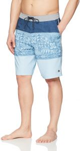 5efbbc6209 Quiksilver Waterman Men's Liberty Triblock Boardshort Swim Trunk, Dark Denim,  38