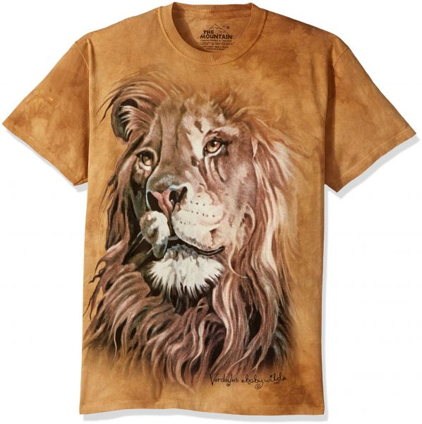 71cba582b The Mountain تي شيرت رجالي مطبوع عليه The Lion King - Lion King T-shirt  Small Brown