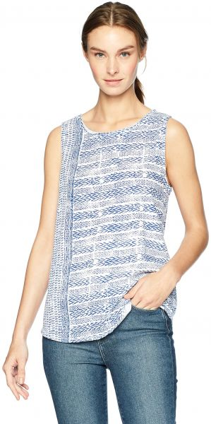 dcc438ac91dbd Lucky Brand Women s All Over Printed Tank Top