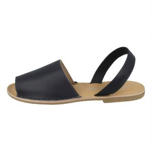 393fefb1d3 Kidderminster Leather collection Flat Sandals for Women - Navy