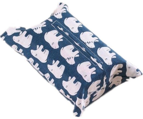 Tissue box cotton and linen Home Car Tissue Case Box Container Towel Napkin Papers BAG Holder BOX Case Pouch