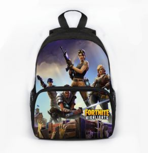 fd751d643ac4 Fortnite 3D Print Children s Backpack Fashion Multifunctional SchoolBag  Cartoon Kindergarten Backpack
