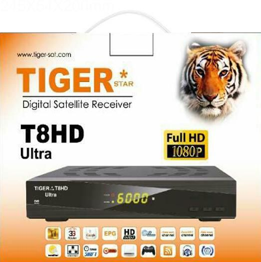 Tiger T8 Ultra HD Satellite Receiver
