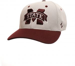 3a24158d2e9 Zephyr NCAA Mississippi State Bulldogs Men s The Athlete Performance Hat