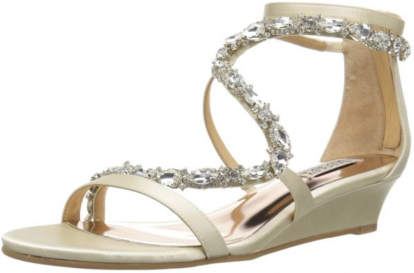 4f46ba2866d Badgley Mischka Women s Sierra Wedge Sandal