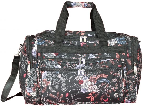 World Traveler Floral Duffel Bag acb6cac725206