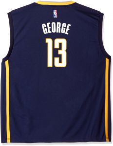 ab2b715584c adidas NBA Men s Indiana Pacers Paul George Replica Player Road Jersey
