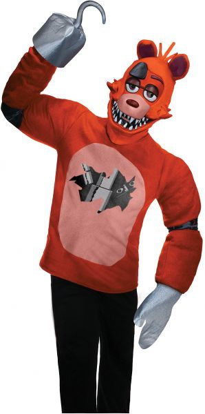 Five Nights at Freddy/'s Foxy Child Costume 2 Sizes