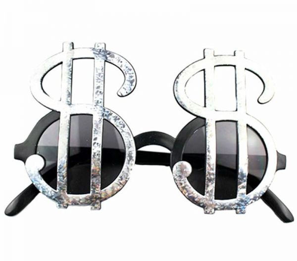 a178a9d5e10f Funny Men Women Dollar Sign Money Cash Casino Sunglasses Kids Adults  Holiday Party Accessories Eye Wear Glasses