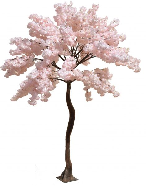 Artificial Pink Cherry Tree 27 Meters High Plant Home Decor Plants Garden