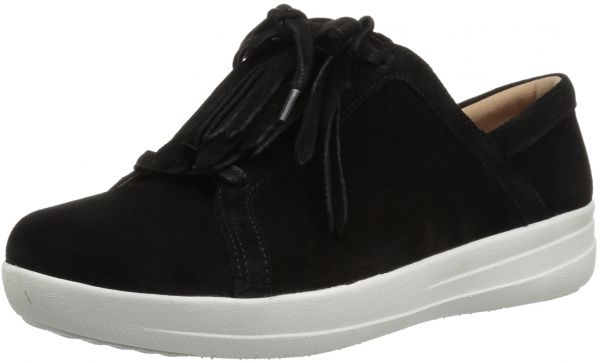 1513f310c223f8 FitFlop Women s F-Sporty II Lace up Fringe Sneaker