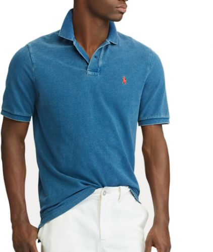 88fdbe0f334 Custom Slim Fit Mesh Polo - MEDIUM