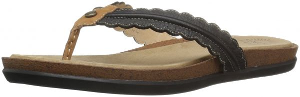 e13ae7fab8cc7 G.H. Bass   Co. Women s Samantha Wedge Flip Flop