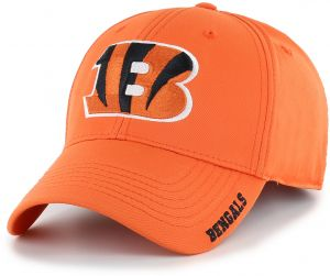 5925a6b37b53d OTS NFL Cincinnati Bengals Adult Start Line Center Stretch Fit Hat