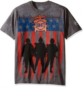 02b34f68c37ef The Mountain Three Troops Adult T-Shirt