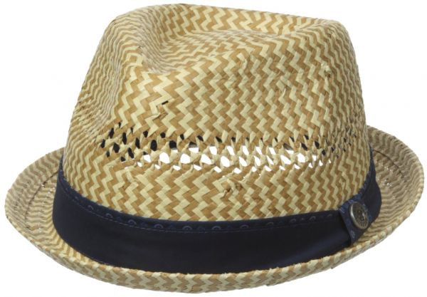 df1138ca129 Ben Sherman Men s Vented Straw Trilby