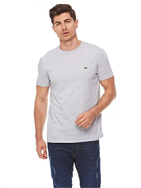 408ab1c5f87 Buy Lacoste T-Shirt for Men - Silver Grey Chine in Kuwait