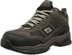 b94f93444857 Skechers Men s Work Relaxed Fit Soft Stride Canopy Comp Toe Shoe
