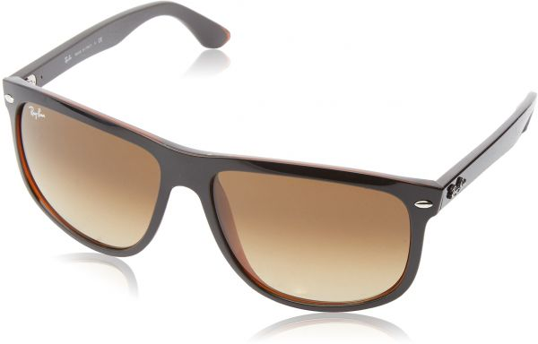 1c21b6964b9 Ray-Ban RB4147 - TOP BLACK ON BROWN Frame BROWN GRADIENT DARK BROWN Lenses  60mm Non-Polarized