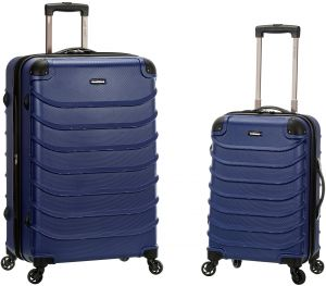 64bea29c882d Rockland Speciale 20 Inch 28 Inch 2 PC Expandable ABS Spinner Set