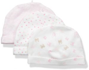 8528839faa4 Sterling Baby by Vitamins Baby Girls  Hats 3 Pack Set