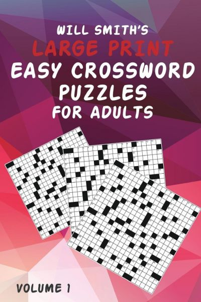 Will Smith Large Print Easy Crossword Puzzles for Adults