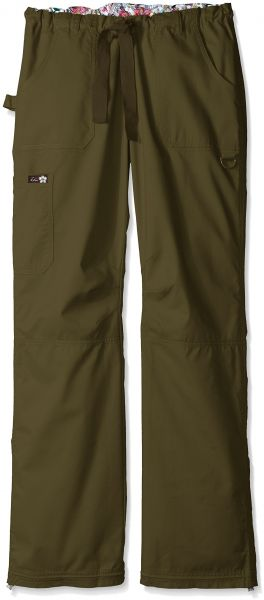 d30efd4b6f7 KOI Women's Tall Lindsey Ultra Comfortable Cargo Style Scrub Pants Sizes,  Olive Green, Small/Tall. by KOI, Uniform - Be the first to rate this product
