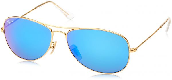 5b09e88c55 Ray Ban RB3362 Cockpit Sunglasses-112 4T Gold (Cyclamen Flash Lens)-56mm.  by Ray-Ban