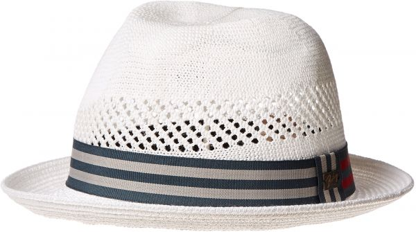 df3278ea Bailey of Hollywood Men's Kalix Fedora Trilby Hat, Shell Heather, M ...