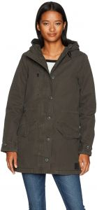 602a49a31816 RVCA Women s Ground Control Sherpa Lined Jacket