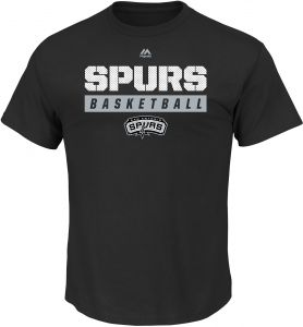 213fac0e33d NBA San Antonio Spurs Men s Proven Pastime Short Sleeve Crew Neck Tee